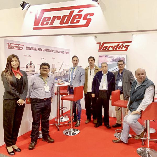 Éxito de Verdés en Expoconstrucción Colombia 2019